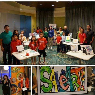 "SpringHill Suites Orlando at SeaWorld(R) recently hosted a ""Save Art"" event to raise money for art education at Winegard Elementary School and Independent Youth Aspiring Artists. For information or to donate, visit www.marriott.com/MCOSS or call 1-407-354-1176."