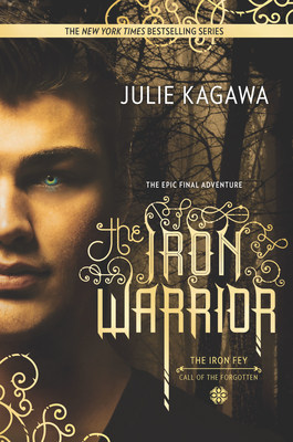The Iron Warrior, the final book in the Iron Fey series.