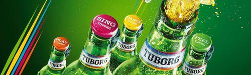 Tuborg: Colors of Fun (PRNewsFoto/Tuborg)