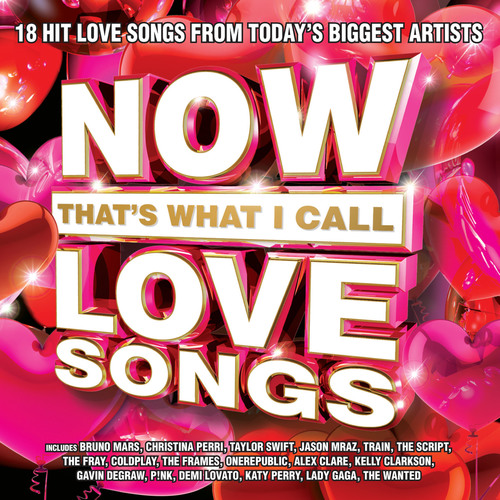 Gathering 18 unforgettable love songs from today's top artists, NOW That's What I Call Love Songs is a ...