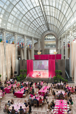 The Womens Health Board of The GW Medical Faculty Associates hold fourth annual Blush Lunch at the Reagan Building and International Trade Center on October 8th. The benefit raises a four year total of $1.5 Million for GW's Mobile Mammography unit known as The Mammovan.