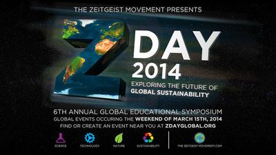 ZDay Logo. (PRNewsFoto/The Zeitgeist Movement) (PRNewsFoto/THE ZEITGEIST MOVEMENT)