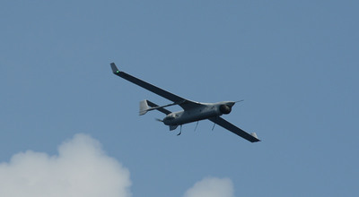RQ-21A Small Tactical Unmanned Aircraft System (STUAS) in Flight.  (PRNewsFoto/Insitu, Inc.)