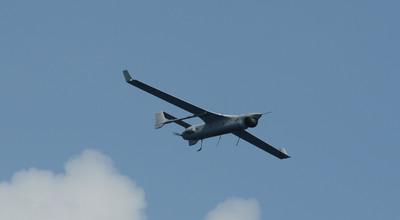 RQ-21A Small Tactical Unmanned Aircraft System (STUAS) in Flight.  (PRNewsFoto/Insitu, Inc.)