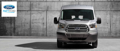The all-new 2015 Ford Transit is the ideal commercial van for business owners in Kansas City. (PRNewsFoto/Matt Ford)