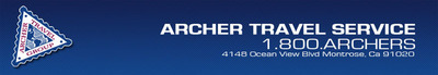 Archer Travel Services, Inc.  (PRNewsFoto/Archer Travel Service, Inc.)
