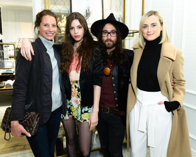 Christy Turlington Burns, Charlotte Kemp Muhl, Sean Lennon, Taylor Schilling at Club Monaco 5th Avenue's Anniversary Event