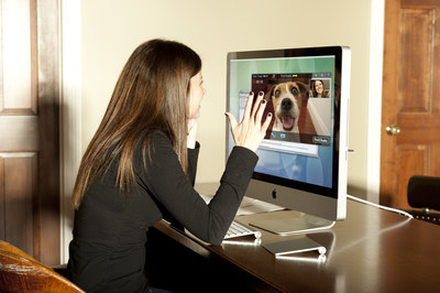 PetChatz is a first-of-kind Greet & Treat videophone that allows pet parents to interact with their pet from anywhere. With PetChatz, you can see, hear, speak to, provide a comforting scent and give your pet a treat using a smart phone or computer.