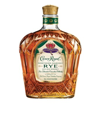 Crown Royal Northern Harvest Rye provides consumers with a very smooth and spicy flavor profile that can be mixed into traditional rye cocktails, such as the Manhattan or Old Fashioned.  Available at 90 proof / 45% Alcohol by Volume, Crown Royal Northern Harvest Rye will be sold at a suggested retail price of $29.99 for a 750 mL bottle.