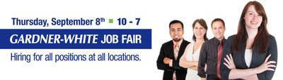 Gardner-White Job Fair - September 8th, 2016