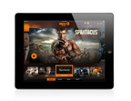 "The Newly Launched STARZ PLAY Homepage Screen Brings ""Spartacus"" To Life on iPad(R) - First on Cox Communications.  (PRNewsFoto/Starz Entertainment)"