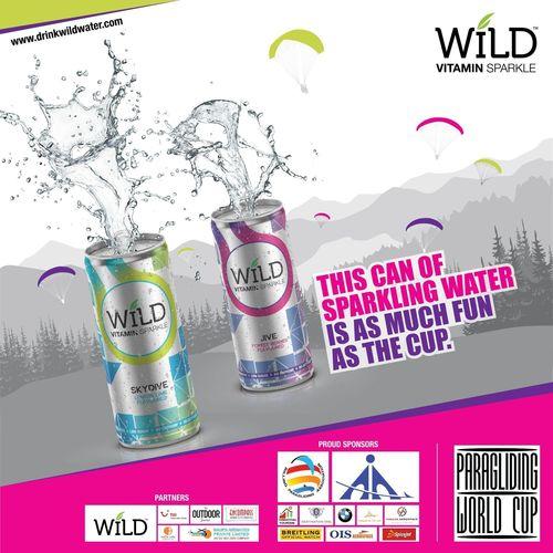 Wild Vitamin Drink Official Beverage Partner at Paragliding World