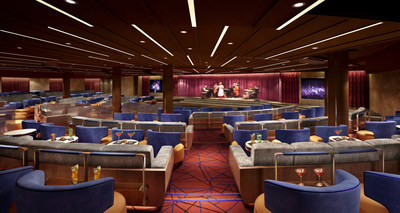 Seabourn Pulls Back The Curtain To Unveil Show Lounge On Board Seabourn Encore: The Grand Salon