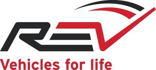 REV Group logo (PRNewsFoto/REV Group, Inc.)