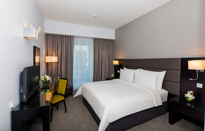 Newly redesigned rooms at Flora Creek Deluxe Hotel Apartments.