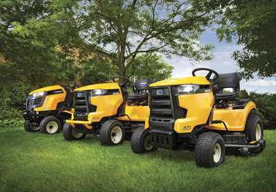 Cub Cadet unveiled today at its National Dealer Convention the new standard in strength and comfort - the XT Enduro Series lawn tractors. (PRNewsFoto/Cub Cadet)