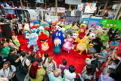 Licensing Expo's Annual Character Parade! Join us at the 2016 Expo on June 21-23 at the Mandalay Bay Convention Center, Las Vegas, NV. www.licensingexpo.com