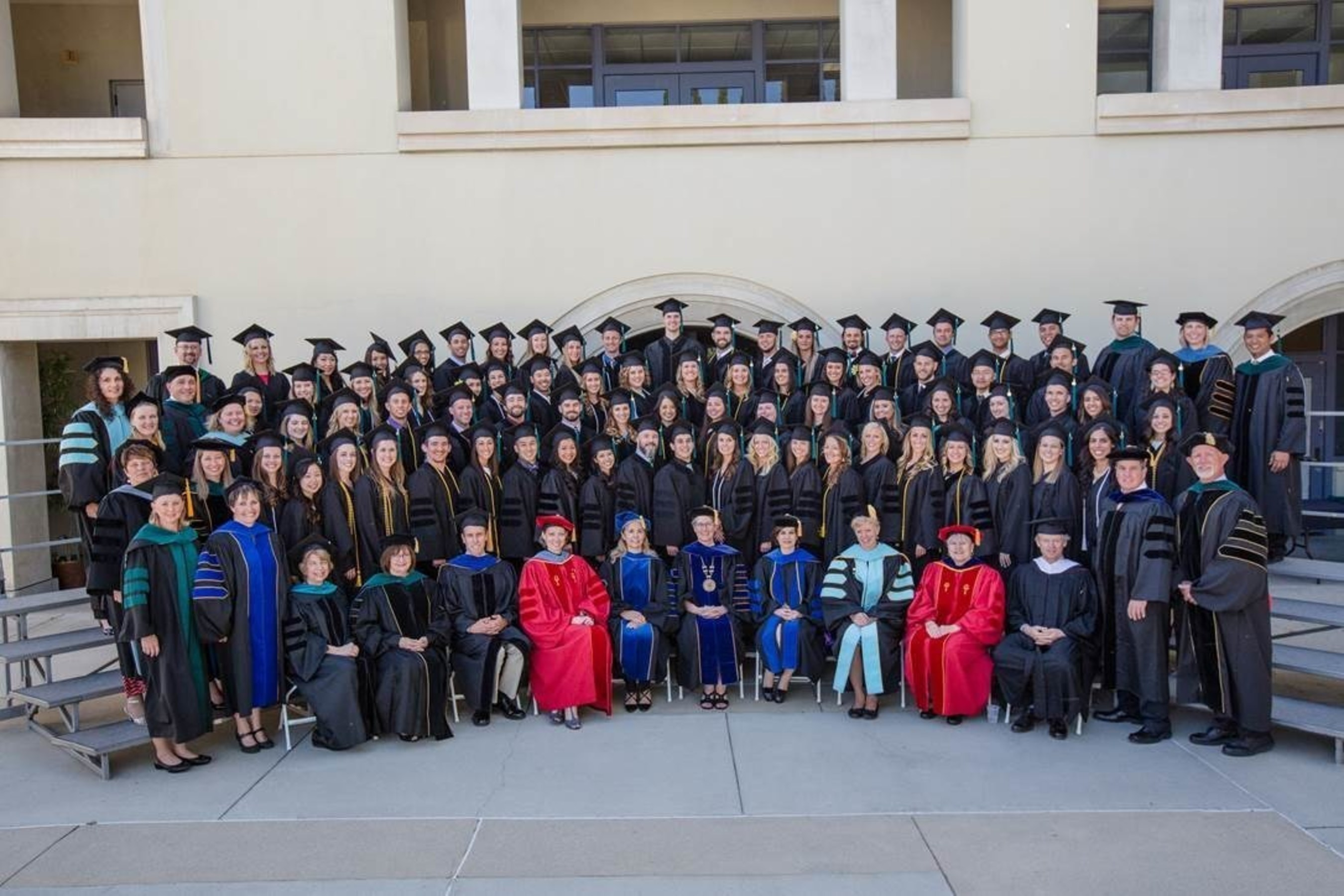 The University of St. Augustine for Health Sciences Southern California campus in San Marcos celebrated its spring commencement by presenting 75 graduates with Doctor of Physical Therapy, Doctor of Occupational Therapy, Master of Occupational Therapy and Doctor of Education degrees.