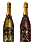 XXIV Karat Sparkling Wine Expands Distribution To California; The Exclusive Sparkling Wine Infused with Indulgent 24-Karat Gold Flakes Includes The Grande Cuvee and Rose. (PRNewsFoto/XXIV Karat)