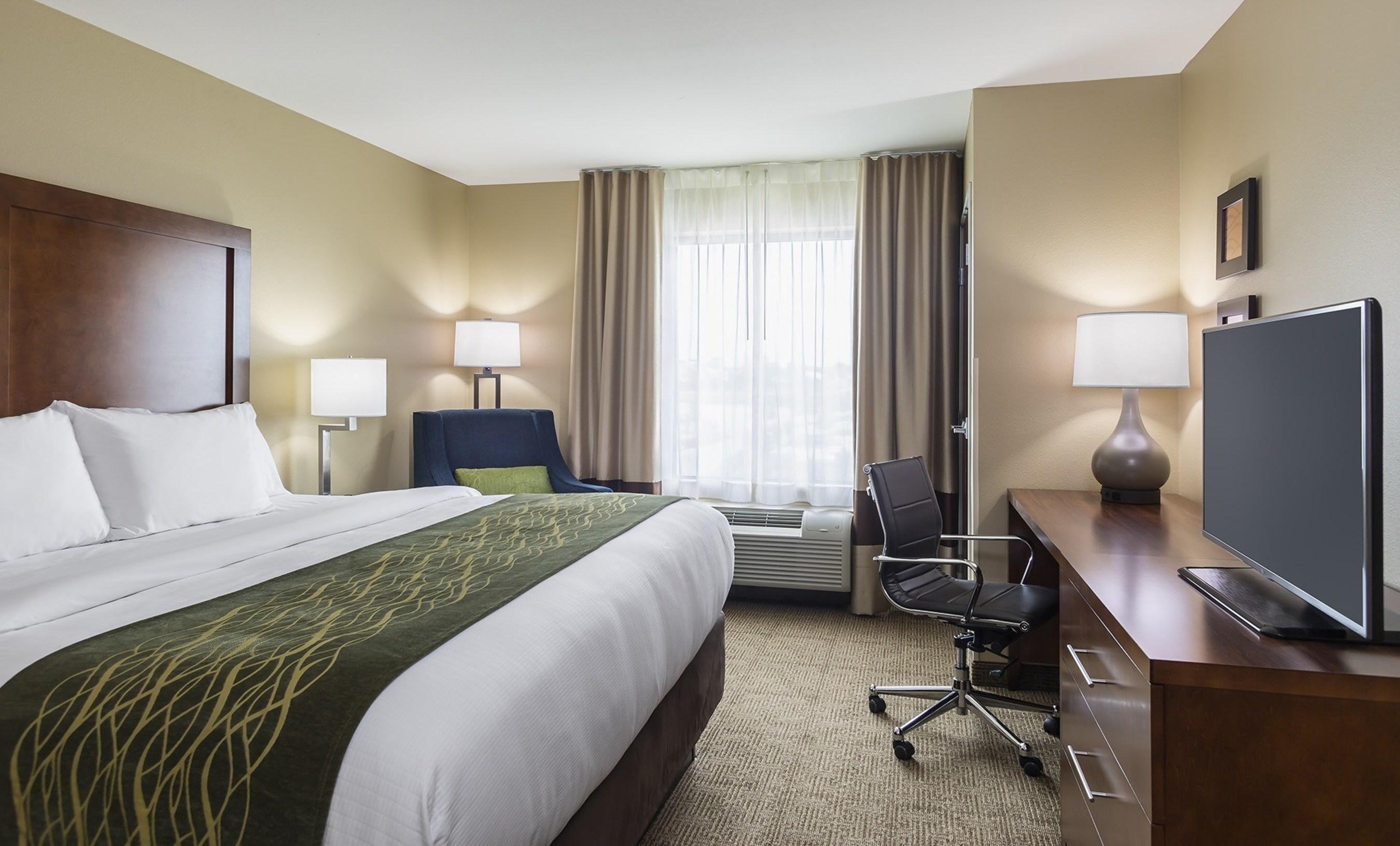 Comfort Inn prototype guest room