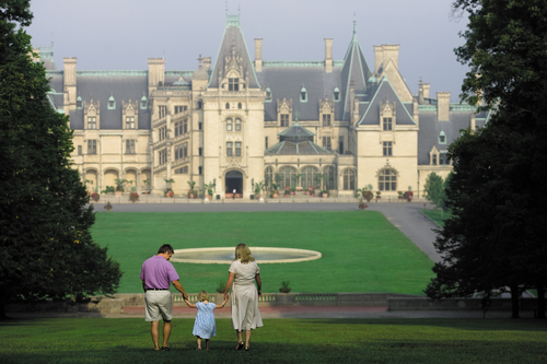 With such a huge front yard to play in, a summer vacation at historic Biltmore in Asheville, NC, can be an epic escape. Visit www.biltmore.com to find out more.  (PRNewsFoto/Biltmore)
