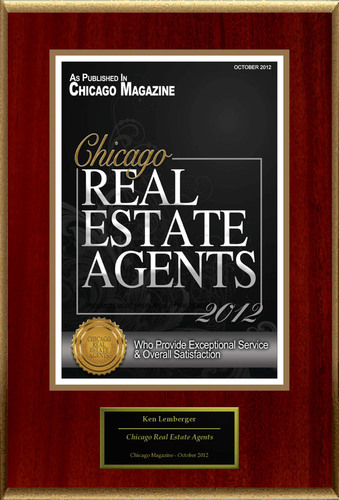"Ken Lemberger Selected For ""Chicago Real Estate Agents.""  (PRNewsFoto/American Registry)"