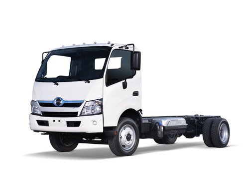 Hino Trucks' Introduces Its New Class 4 and 5 Cab Over With the First Ever U.S. Diesel-Electric