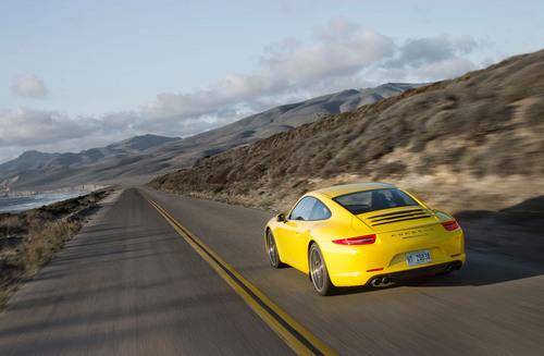 2012 Racing Yellow 911 Carrera S.  (PRNewsFoto/Porsche Cars North America, Inc.)