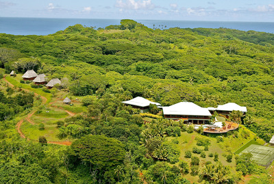Concierge Auctions Announces October 3rd Auction Without Reserve Of The Luxurious, 46-Acre Estate Of Rai Ki Wai On Ultra-Exclusive And Private Wakaya Island, Fiji.  (PRNewsFoto/Concierge Auctions)