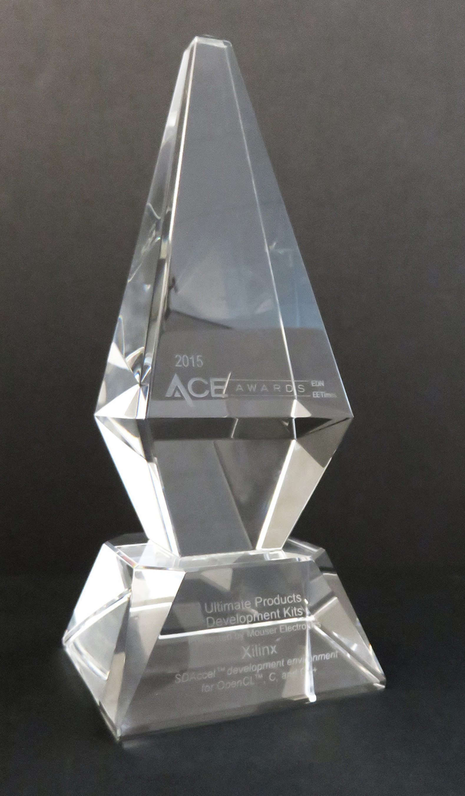 Xilinx Receives Prestigious 2015 EE Times and EDN ACE Award for 'Software Defined' SDAccel Development Environment