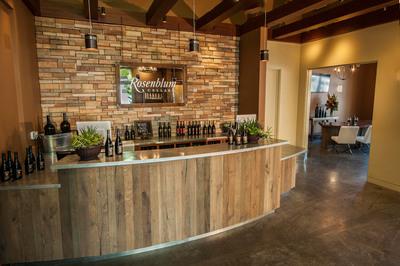 The Pioneer Zinfandel Producer, Rosenblum Cellars, opens a new tasting lounge in Healdsburg California.  (PRNewsFoto/Rosenblum Cellars)