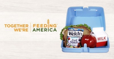 Welch's(R) Fruit Snacks Partners with Feeding America(R) to Help Fill over 1 Million Lunchboxes
