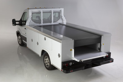 The Retractable Utility Bed Cover (RUBC) from Pace Edwards is a workhorse for service industry fleets. www.pace-edwards.com