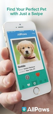 AllPaws.com, a fast growing pet adoption website, today announced the launch of the AllPaws iPhone app, enabling iPhone users to search and view photos of more than 200,000 dogs, cats, and other pets available for adoption nationwide. With a sleek design, easy-to-use functionality and robust iPhone-customized features, the free app offers users unique and engaging ways to discover pets in their area. Designed by a team with deep roots in the online dating industry, the AllPaws iPhone app combines the latest in technology, functionality, and search, and represents a major step forward toward helping more pets find new homes.