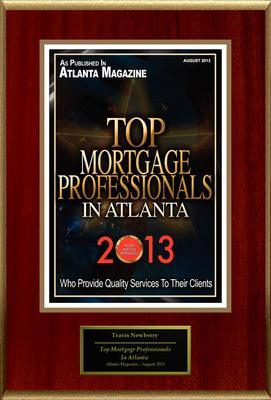 "Travis Newberry Selected For ""Top Mortgage Professionals In Atlanta"". (PRNewsFoto/American Registry) (PRNewsFoto/AMERICAN REGISTRY)"