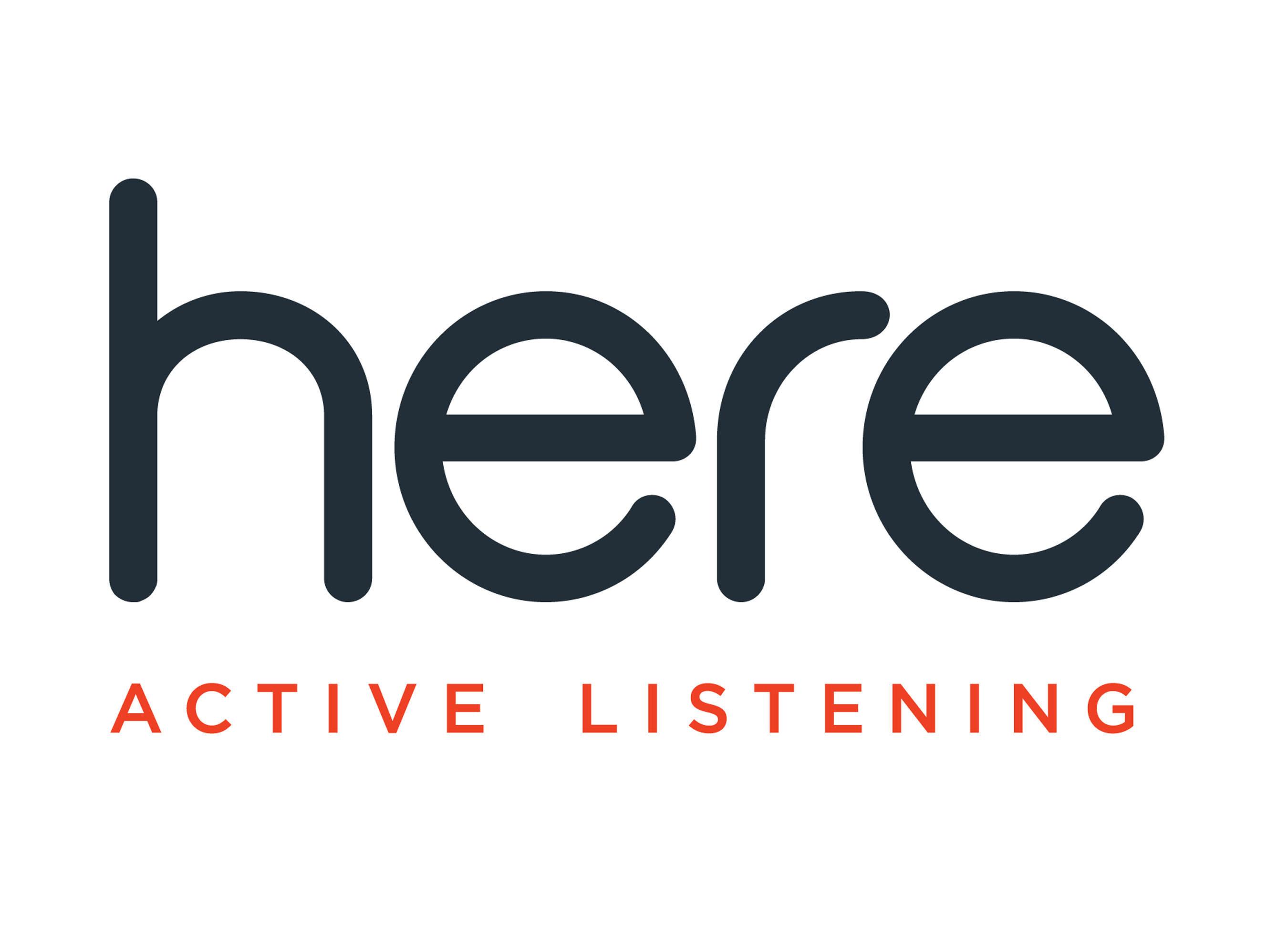 Here Active Listening Logo
