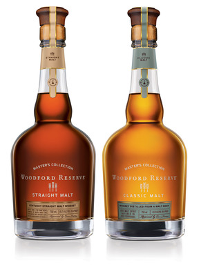 Woodford Reserve releases limited edition malt offerings for the 2013 Master's Collection available starting in November.  (PRNewsFoto/Woodford Reserve)
