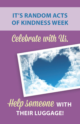 AIRMALL celebrates Random Acts of Kindness Week