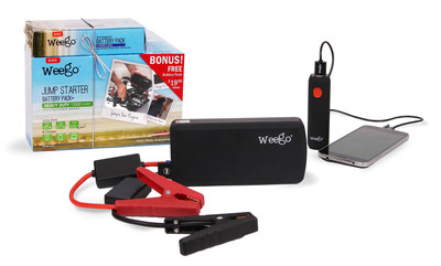 Weego Jump Starter Battery+ Holiday Bundle