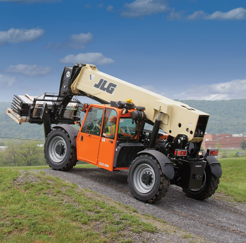 The JLG G12-55A Telehandler is now being offered by H&K Equipment of Pittsburgh to service construction as well as oil and gas sites in Pittsburgh, Ohio, West Virginia, and Maryland. (PRNewsFoto/H&K Equipment) (PRNewsFoto/H&K EQUIPMENT)