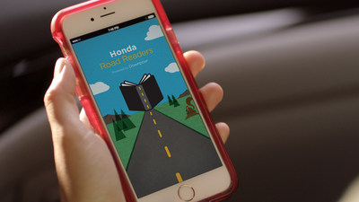 New Honda Road Readers Program designed to encourage children to use their imaginations during drives.