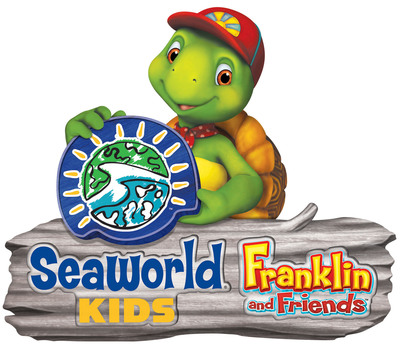 SeaWorld Parks & Entertainment and Corus Entertainment's Nelvana announced today a multi-platform partnership that combines the appeal of the popular Franklin & Friends characters with the beloved SeaWorld(R) brand. Beginning January 2013, the company's new SeaWorld Kids brand and Nelvana will team up to introduce kids and families to in-park Franklin characters, TV specials, books and merchandise. SeaWorld Parks & Entertainment. Orlando, Fla.  (PRNewsFoto/SeaWorld Parks & Entertainment)