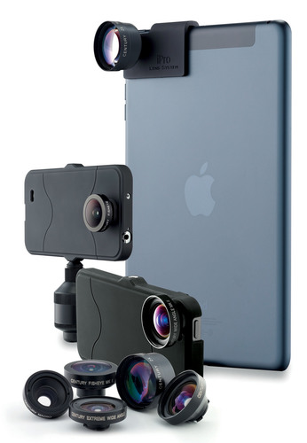 Take pro photos & video wherever you take your smartphone--with the iPro Lens System by Schneider Optics. ...