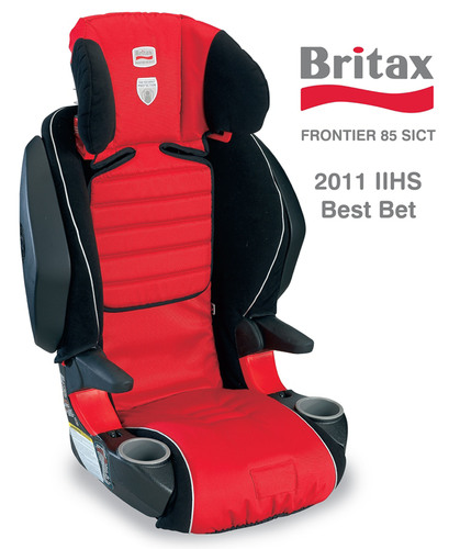 Insurance Institute for Highway Safety Gives BRITAX Boosters High Ratings
