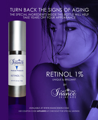 Turn Back the Signs of Aging.(PRNewsFoto/Inance Skin Care)