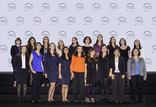 2014 L'Oreal-UNESCO Pour les Femmes et la Science (PRNewsFoto/La Fondation L'Oreal)