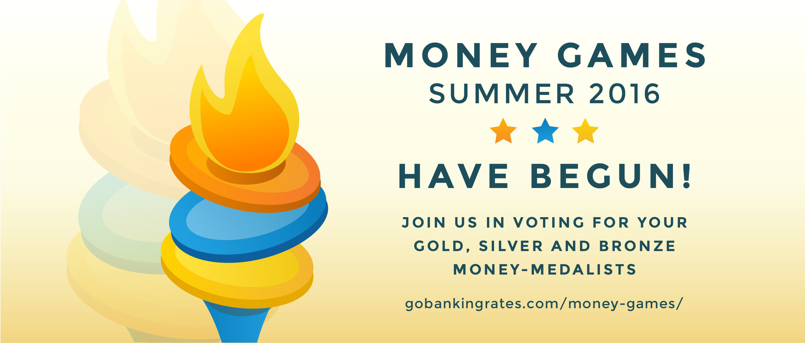 Ready, Set, Vote Now! The #MoneyGames Competition Hosted by GOBankingRates Is On