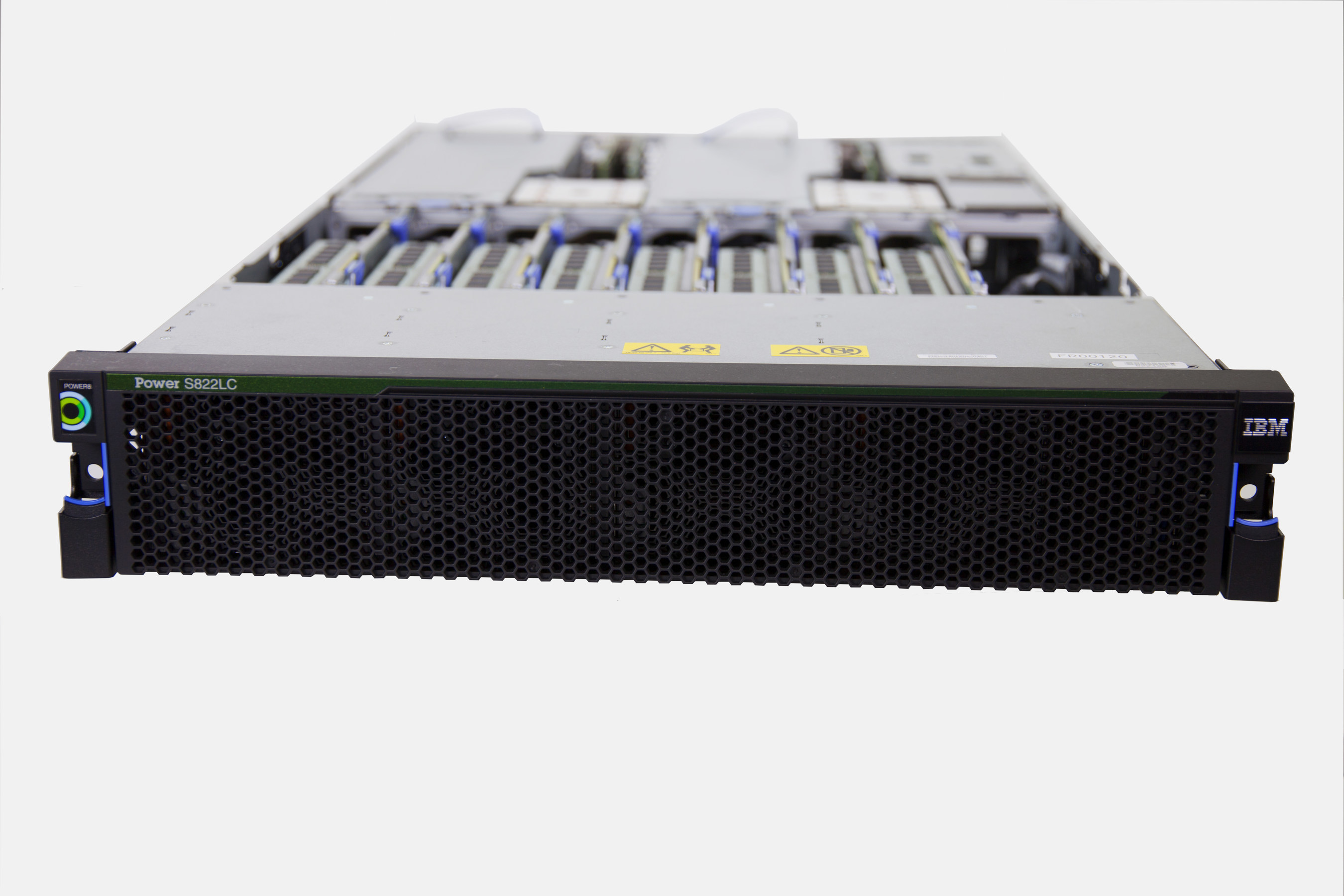 """IBM this week launched a new """"LC"""" line of servers that infuse technologies from members of the OpenPOWER Foundation and are part of IBM's Power Systems portfolio of servers.  Pictured above is the Power S822LC, an ideal server for cloud and cluster deployments.Photo Credit: IBM"""