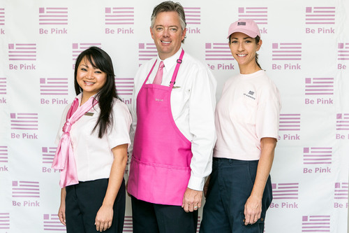 BE PINK: US Airways Employees Add Color For A Cause To Help Fight Breast Cancer