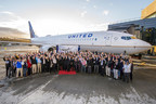United Airlines Salutes Its Military Veteran Employees with Boeing 737 Aircraft Delivery Flight